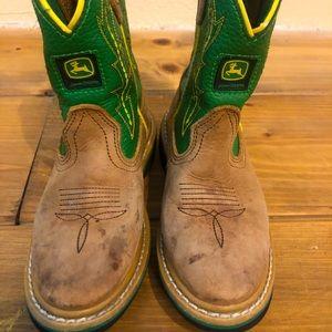 John Deere cowboy boots size 11t